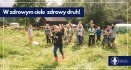 """""""W zdrowym ciele zdrowy druh!"""" – Piknik naKaczeńcowej + Zakończenie Roku Harcerskiego 2021"""